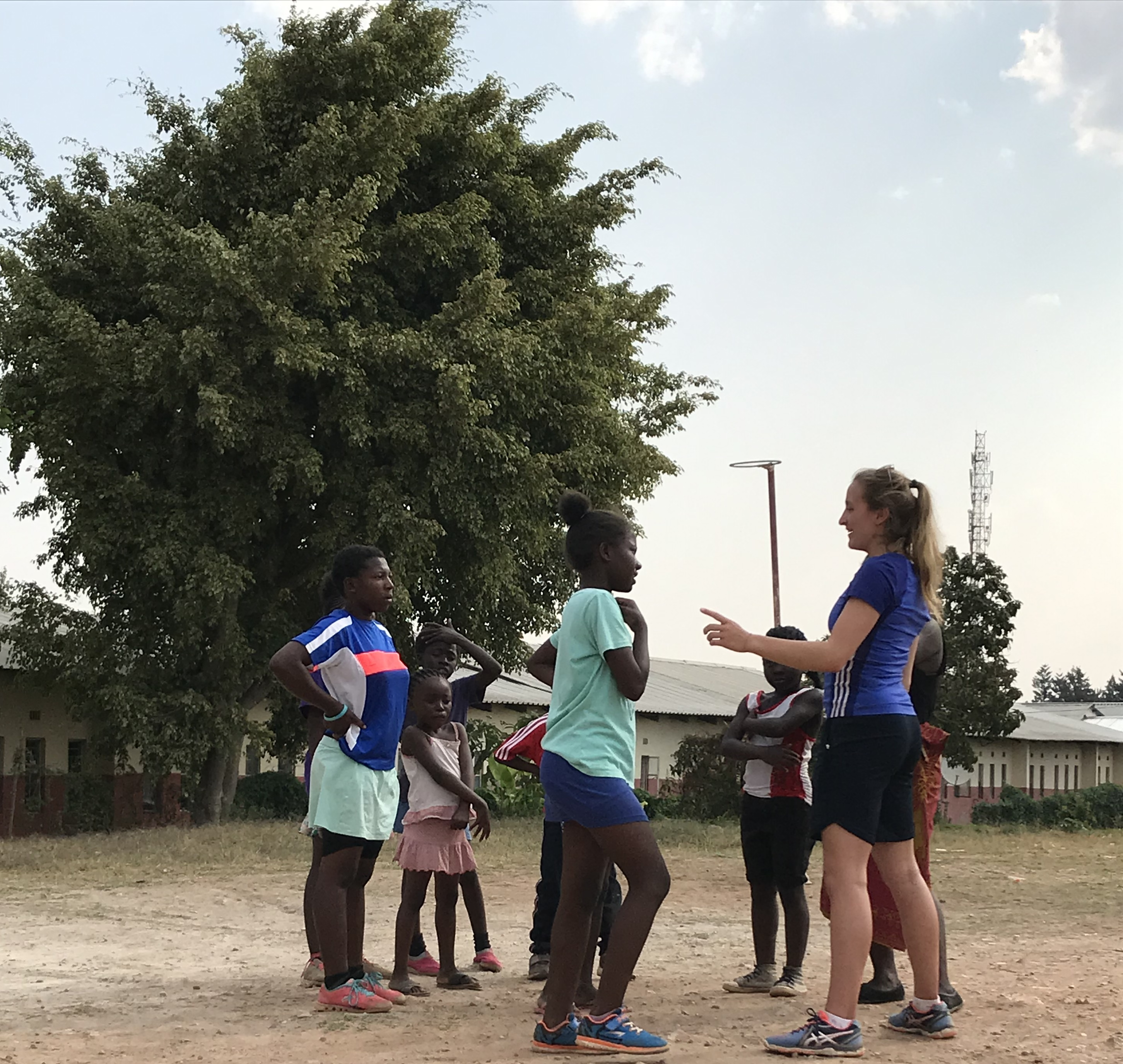Emily's Experience At The Mtendere Netball Hub